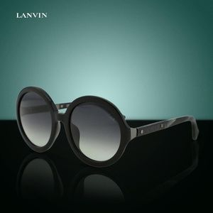24e2cdefe58 Lanvin SLN-628V Women Round Over-sized Sunglasses